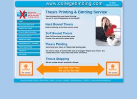 Collegebinding.com thumbnail