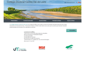 Collegedoctoral-cvl.fr thumbnail