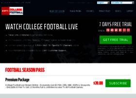 Collegefootballlivestream.net thumbnail