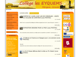 Collegeleseyquems.fr thumbnail