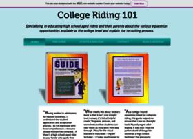 Collegeriding101.com thumbnail
