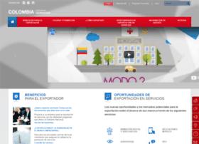 Colombiaexportaservicios.co thumbnail