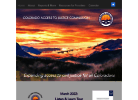 Coloradojustice.org thumbnail