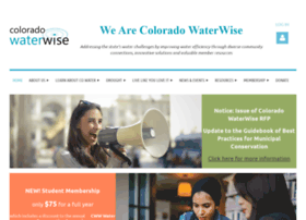 Coloradowaterwise.org thumbnail
