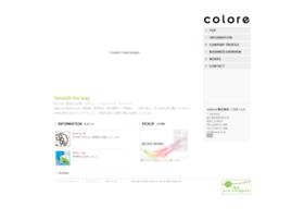 Colore.co.jp thumbnail