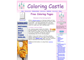 coloringcastle.com at WI. Coloring Pages from Coloring Castle