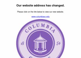 Columbiacollegesc.edu thumbnail