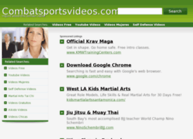 Combatsportsvideos.com thumbnail