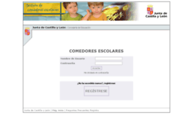 comedoresescolares.jcyl.es at Website Informer. Visit ...