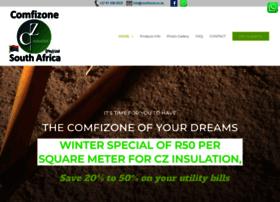 Comfizone.co.za thumbnail