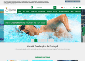 Comiteparalimpicoportugal.pt thumbnail