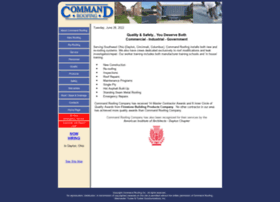 Commandroofing Com At Wi Command Roofing Company