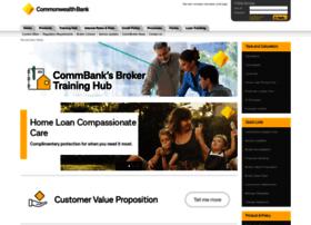 Commbank broker site