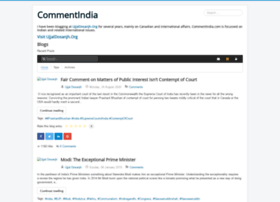 Commentindia.in thumbnail