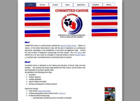 Committedcanine.org thumbnail