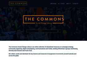 Commonslibrary.org thumbnail