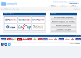 Commsoft.net.in thumbnail