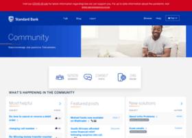 Community.standardbank.co.za thumbnail
