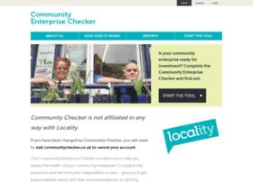 Communityenterprisechecker.org.uk thumbnail