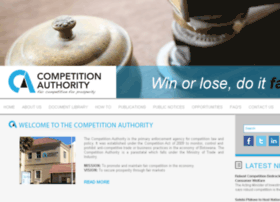 Competitionauthority.co.bw thumbnail