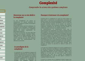 Complexite.eu thumbnail