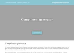 Complimentgenerator.co.uk thumbnail