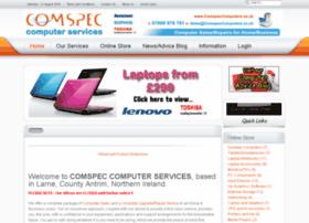 Comspeccomputers.co.uk thumbnail