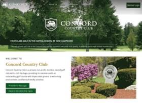 Concordcountryclub.org thumbnail