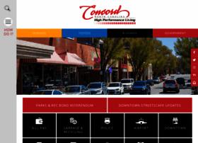 Concordnc.gov thumbnail