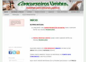 Concurseirosunidos.com.br thumbnail