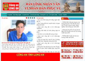 Conganlongan.gov.vn thumbnail