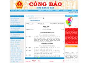 Congbaokhanhhoa.gov.vn thumbnail