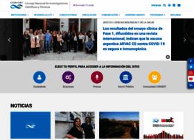 Conicet.gov.ar thumbnail