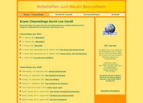 conradorg ch channelings kryon