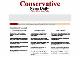 Conservativenewsdaily.net thumbnail
