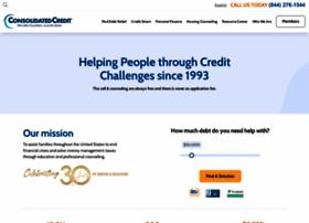Consolidatedcredit.org thumbnail