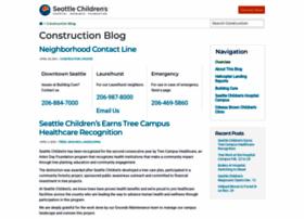 Construction.seattlechildrens.org thumbnail