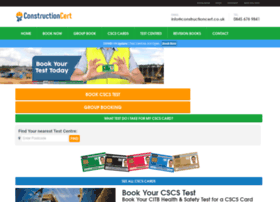 Constructioncert.co.uk thumbnail