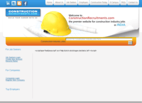 Constructionrecruitments.com thumbnail
