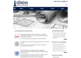 Construtoragenova.com.br thumbnail