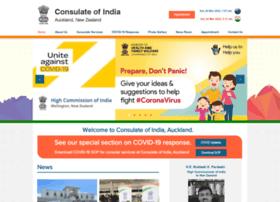 Consulateofindia.in thumbnail