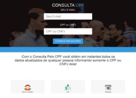 Consultapelocpf.com.br thumbnail