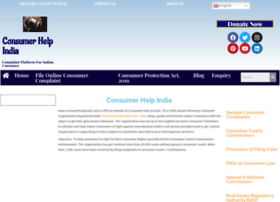 Consumerhelpindia.com thumbnail