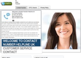 Contact-helpline.com thumbnail