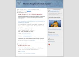 Contact-number.co.uk thumbnail