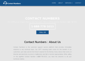 Contact-numbers.net thumbnail