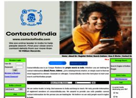 Contactofindia.com thumbnail