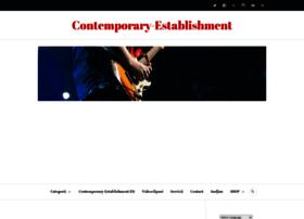 Contemporaryestablishment.org thumbnail