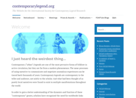 Contemporarylegend.org thumbnail