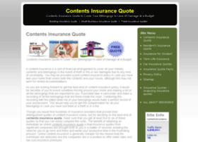 Contentsinsurancequotes.net thumbnail